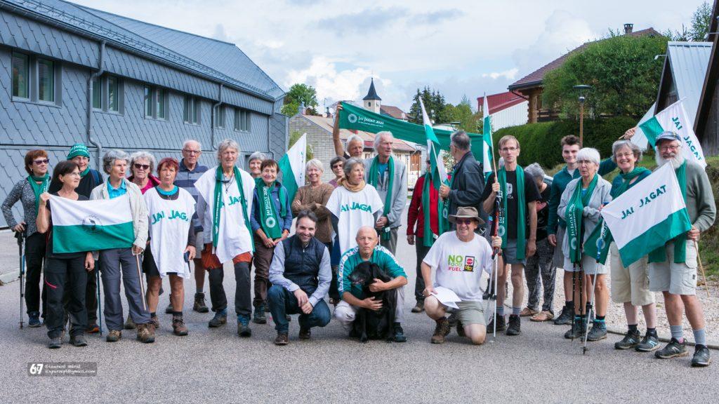 Jai-Jagat 2020 à Prémanon, en compagnie de Nolwenn Marchand
