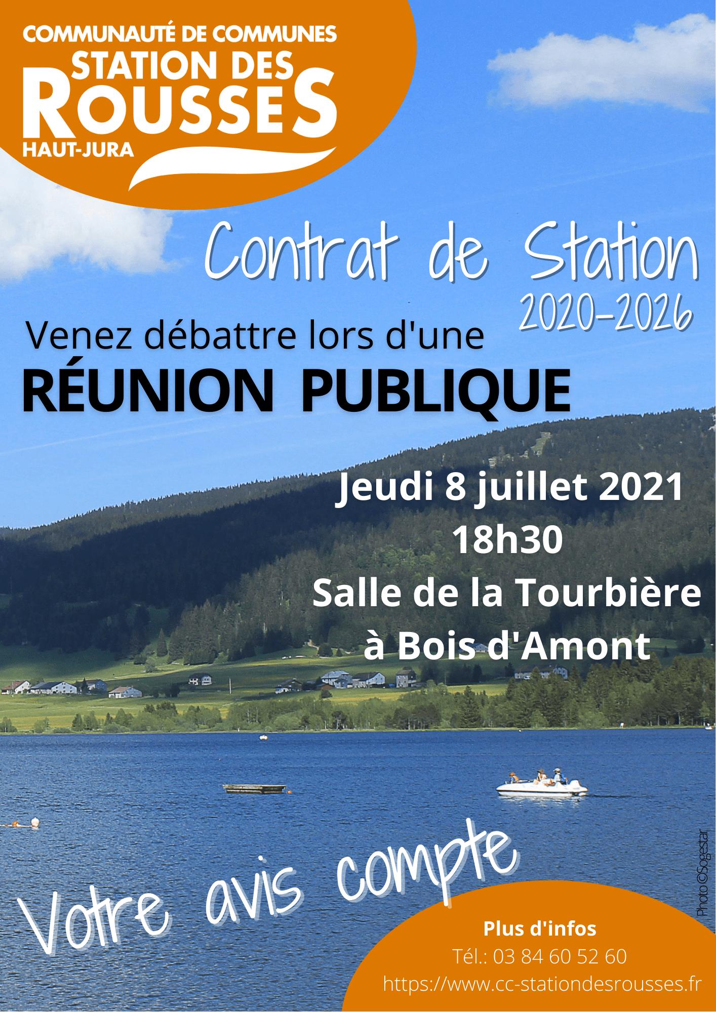 contrat de station 2020-2026 - réunion publique le 8 juillet 2021