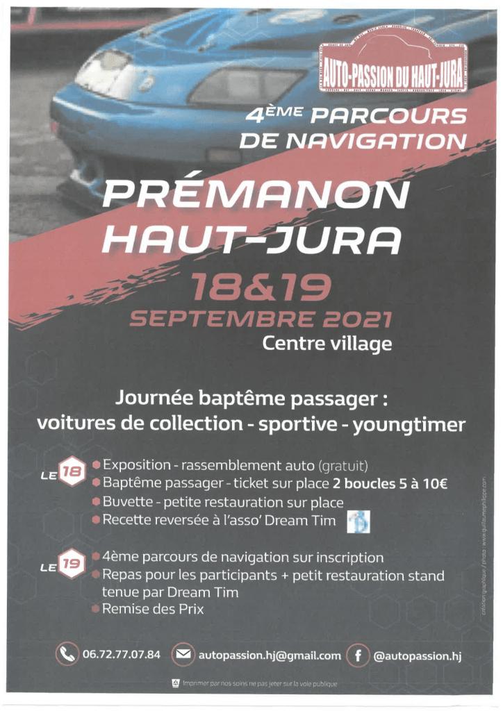 Affiche du week-end Auto-Passion - septembre 2021