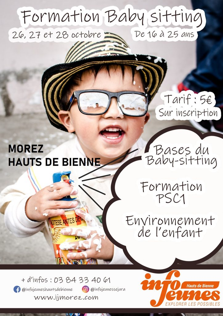 Formation Baby-sitters, octobre 2021